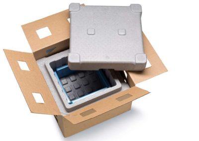 Caja de Porex adaptada