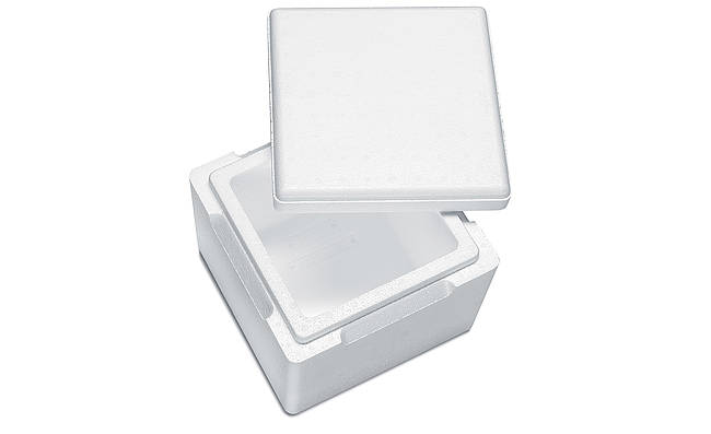 Cajas de porex
